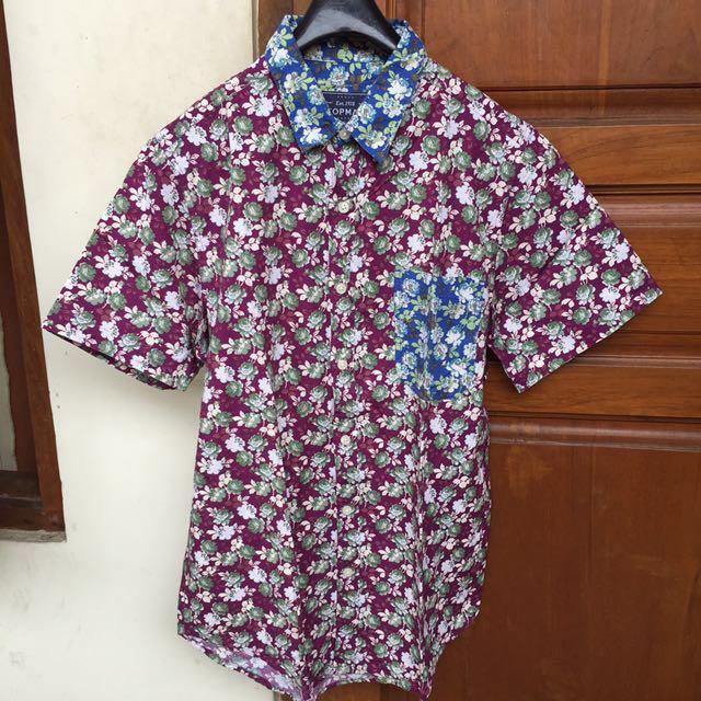 Flower Shirt Top Man
