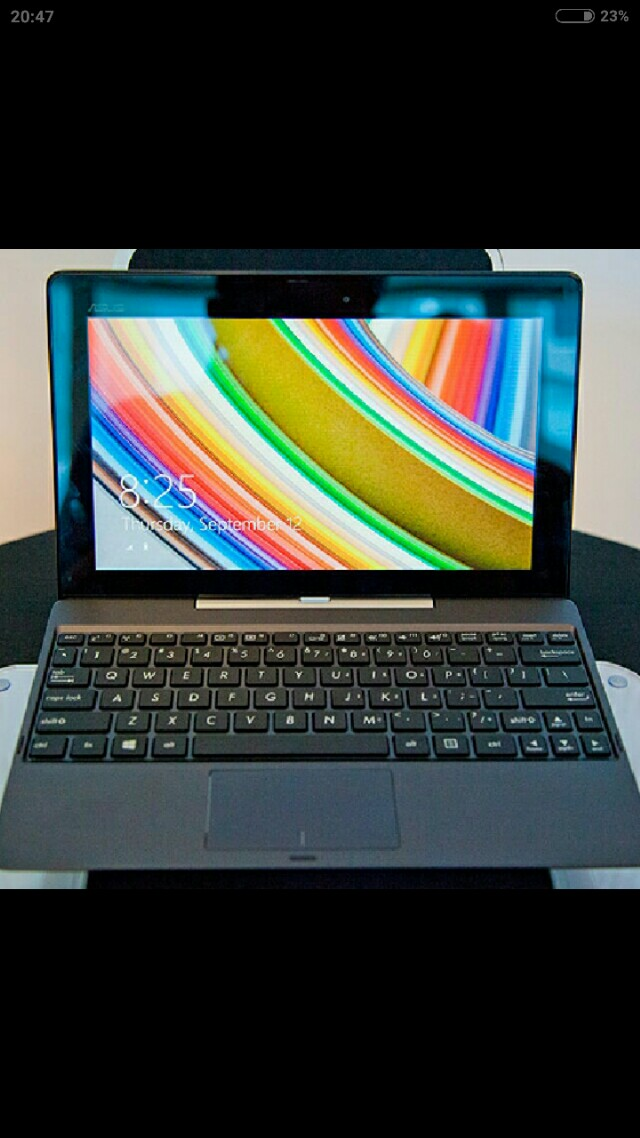 (FREE MS OFFICE!) Certified Refurbished Asus T100 Hybrid Tablet Laptop