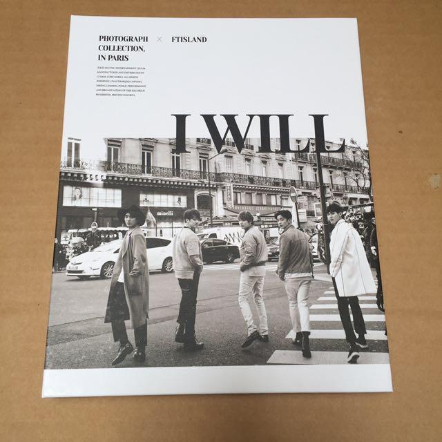 FTISLAND I Will Special Photobook edition album