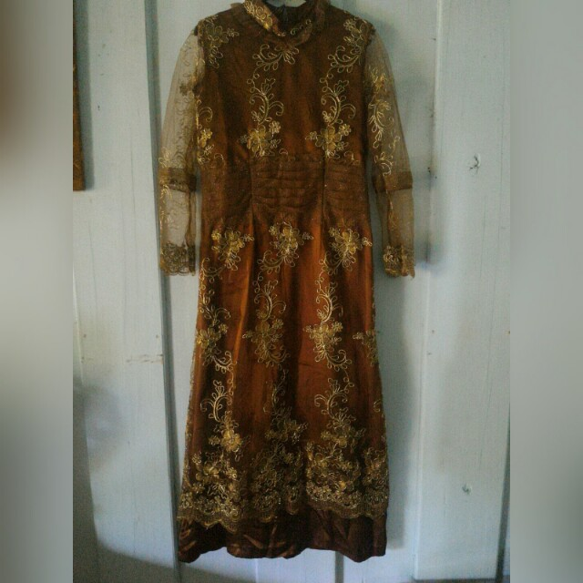 gamis pesta preloved