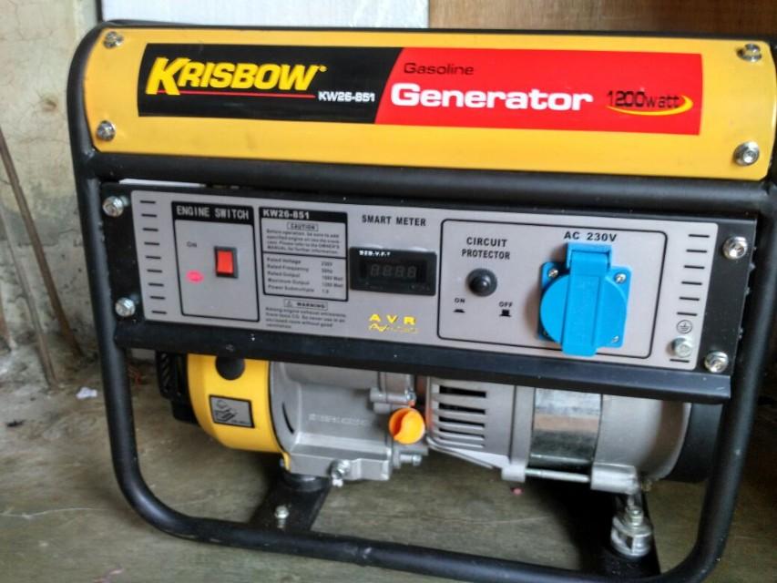Generator Krisbow 1200 watt