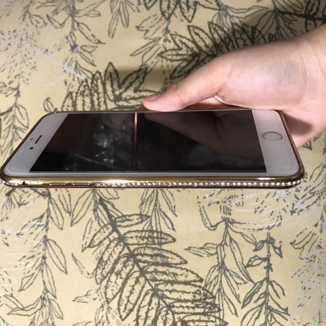 Gold Chrome iPhone 6 PLUS Case