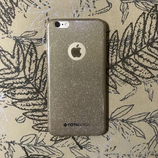 Gold Glitter Case iPhone 6 PLUS Case