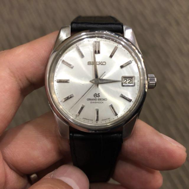 Grand Seiko Diashock Self Dater 5722 9991 Luxury Watches On Carousell