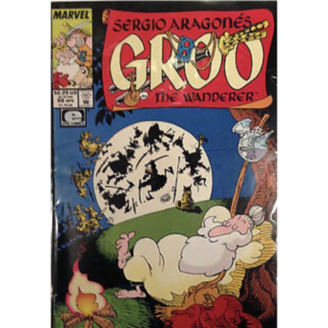 Groo The Wanderer #88 + 1st Print Epic Marvel Comic