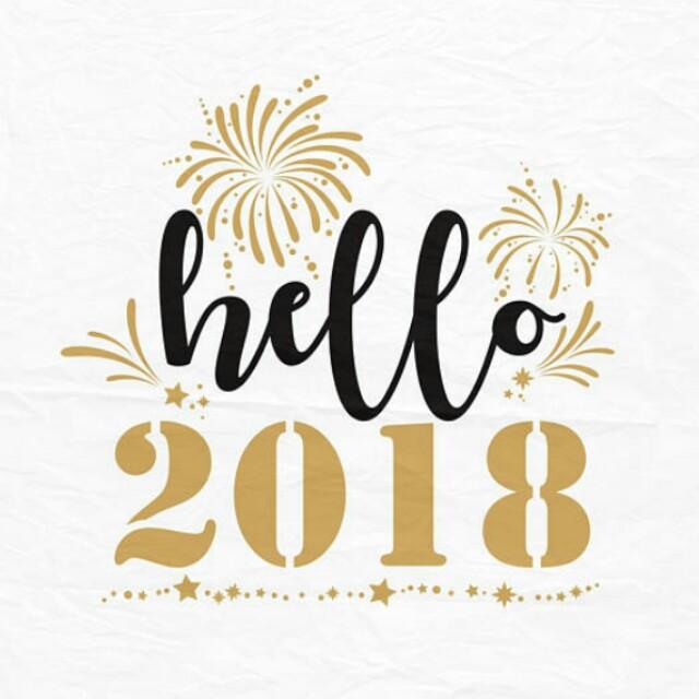 Happy New Year 2018 🎉