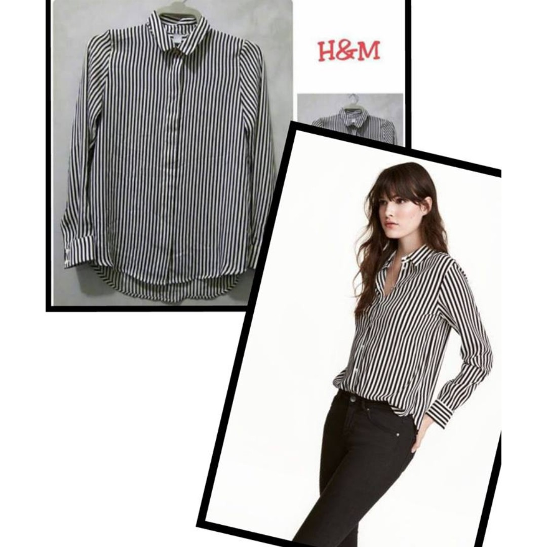 HM blouse Stripe