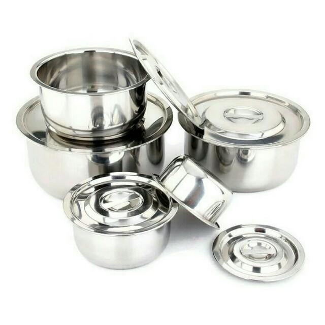 🔥Hot Sale!!🔥Iguana 5 in 1 Multipurpose Conditioning Stainless Steel Ware Stock Pot #MidJan55