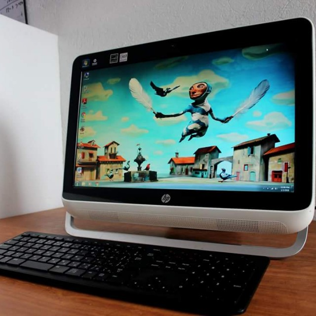HP All in one Pc AMD Dual core 2gb ram ddr3 Free Deliver