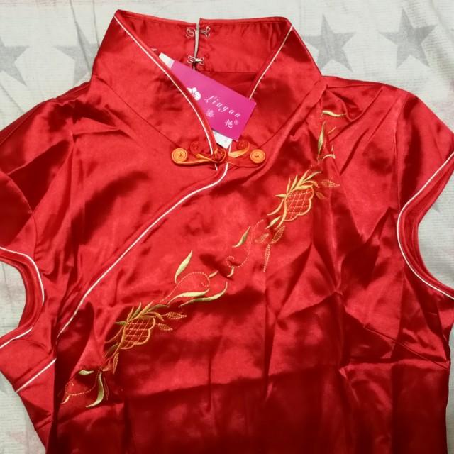Huattest Red Koi Cheongsam #midjan55