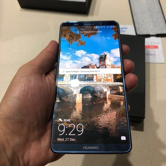 Huawei Mate 10 Pro Midnight Blue Mobile Phones