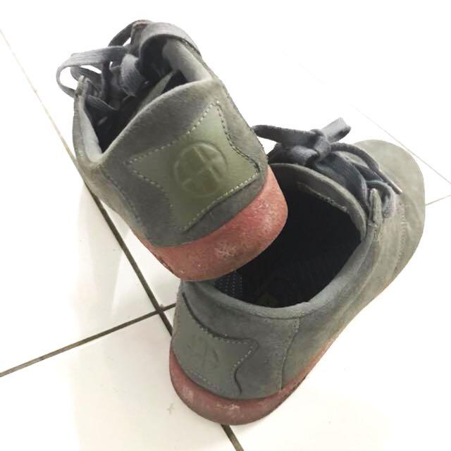 HUF Hufnagel Pro Skate Skateboarding Shoes New Charcoal Brick