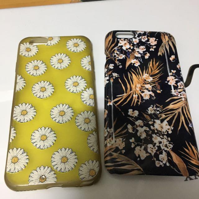 I6/I6s 手機殼*2 黃色小雛菊/花花手機殼