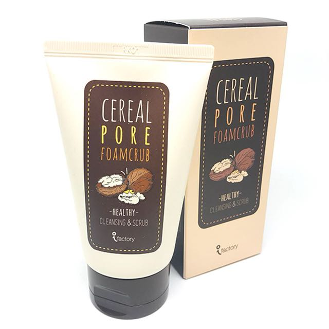 iFACTORY Cereal Foam Scrub 100ml