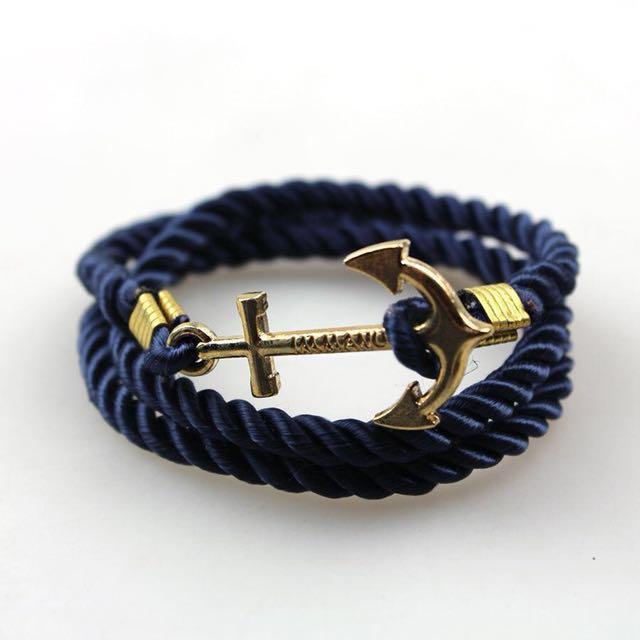 Immanuel Engraved Anchor Bracelet Men S Fashion Accessories On Carou