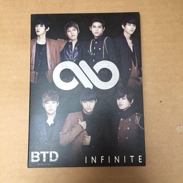 Infinite BTD (Before the Dawn) Japan edition CD+DVD w/ Hoya pc