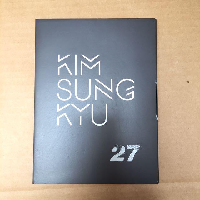 Infinite Kim Sungkyu 2nd mini album 27