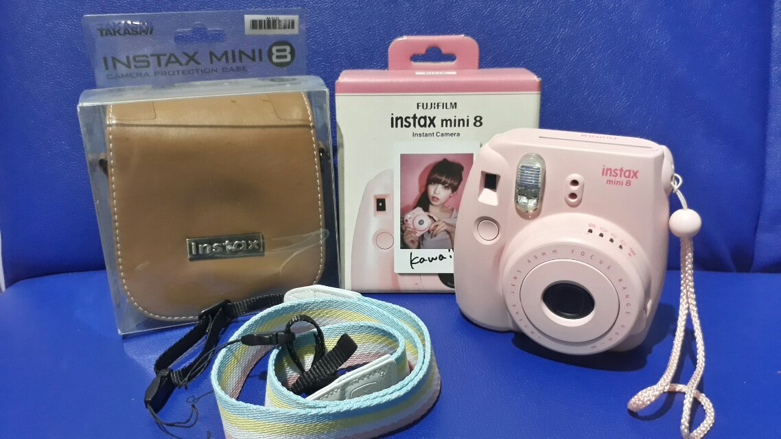 Instax Mini 8 Original Pre-loved No scratches 100% perfect condition