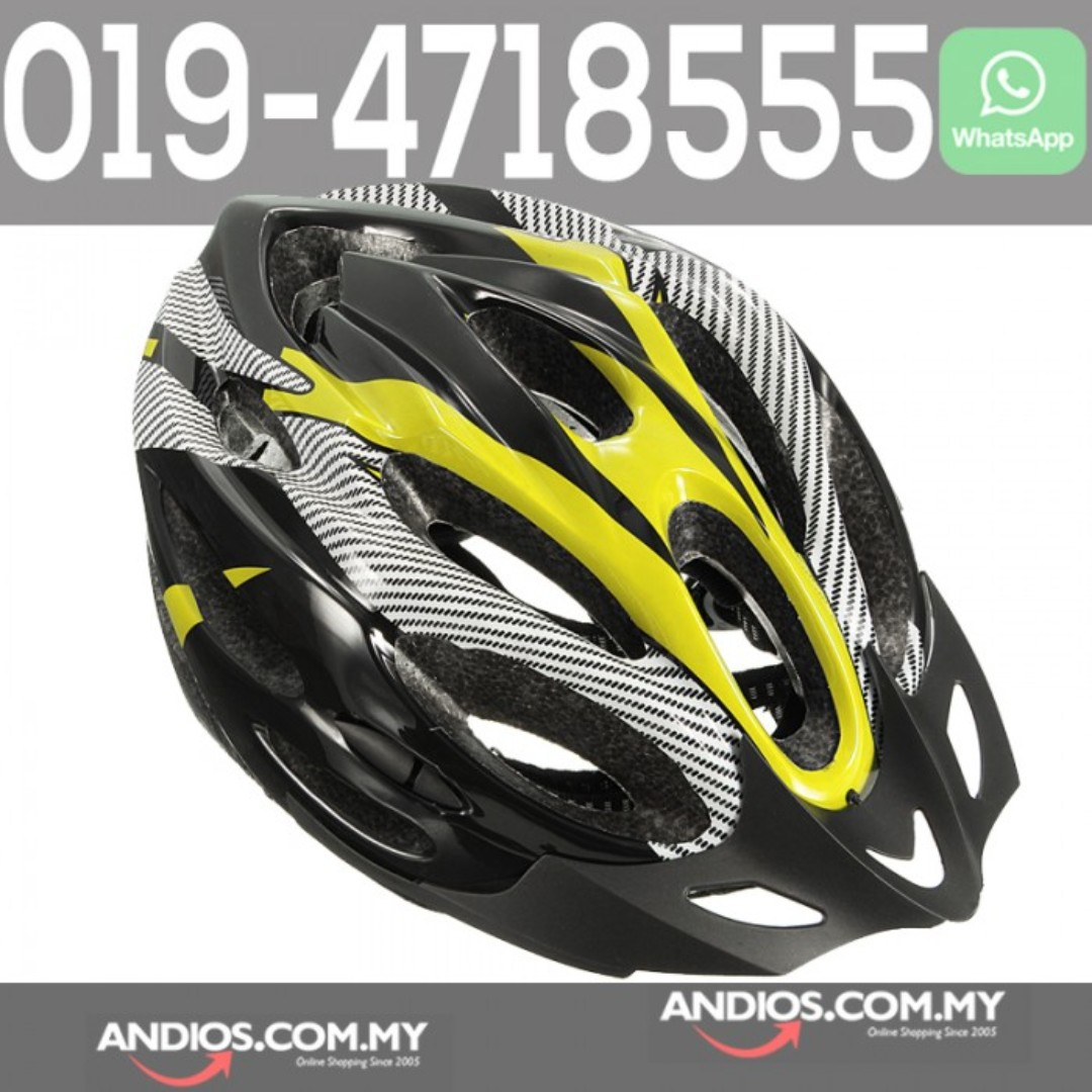 In-Stock✓Cycling Mountain Bicycle Racing Adult Bike Safety Helmet with Visor 8767ff6616