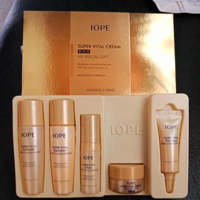 IOPE Super Vital Cream VIP Special Gift