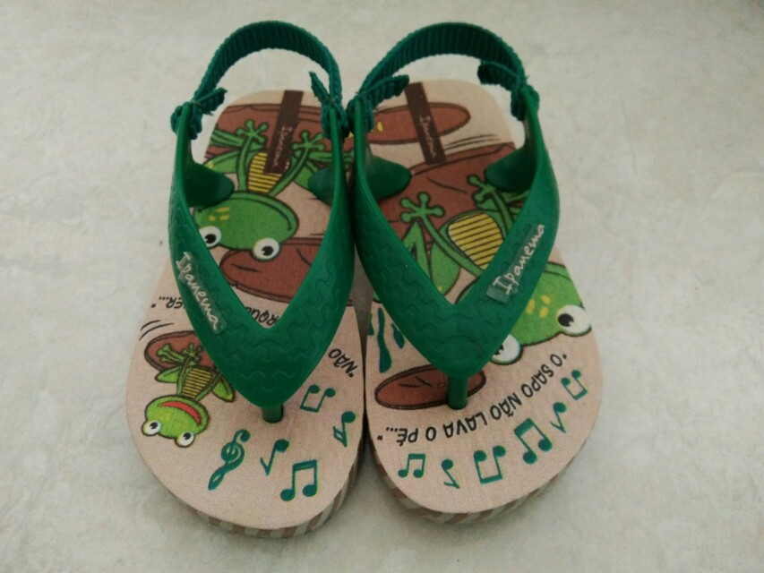 Ipanema Slippers with Garter