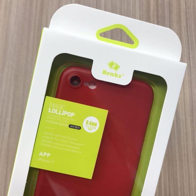 iPhone7 Benks 邦克仕 超薄0.4mm 防汗材質 360包覆 保護硬殼 全新