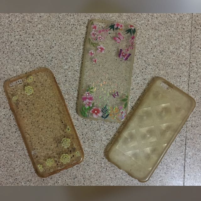 Iphone 6 cases 3 for 200