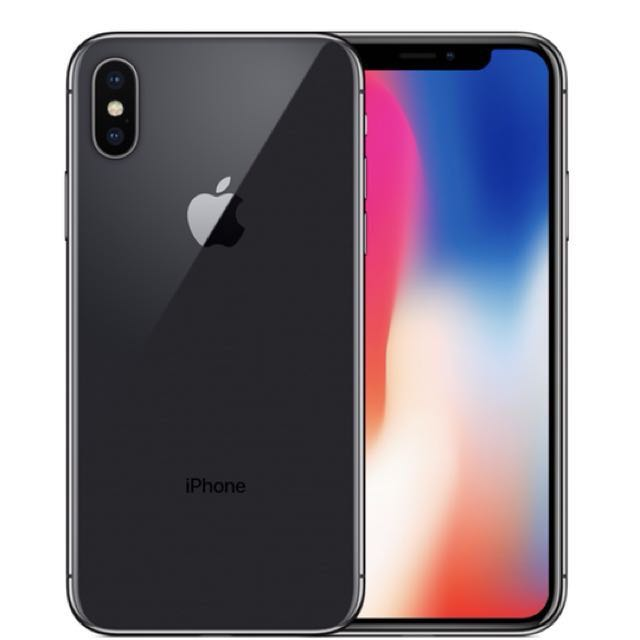 iPhone X - Space grey 64 gig