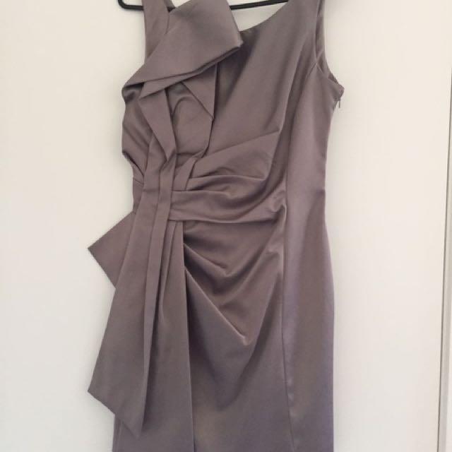 KAREN MILLEN Grey Cocktail Dress