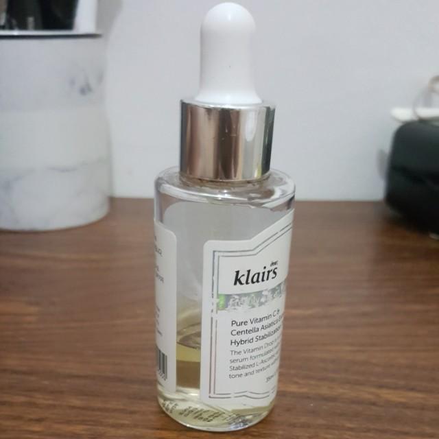 Klairs freshly juiced vitamin drop serum