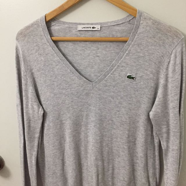 Ladies Lacoste sweater