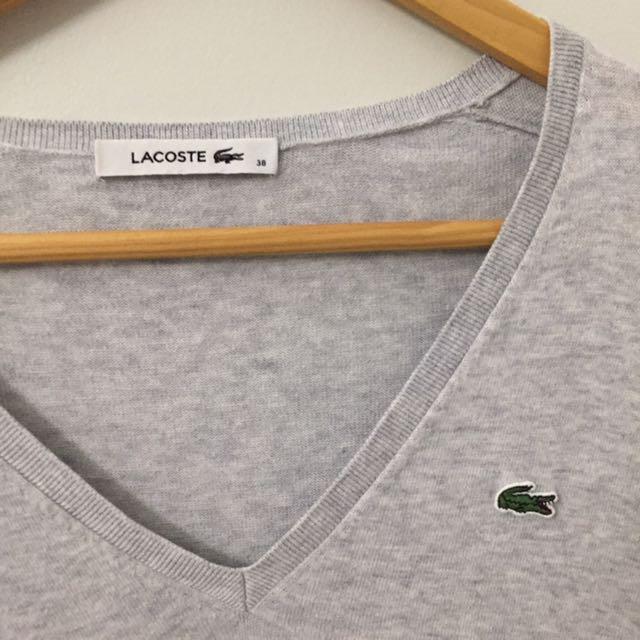 Ladies Lacoste sweater
