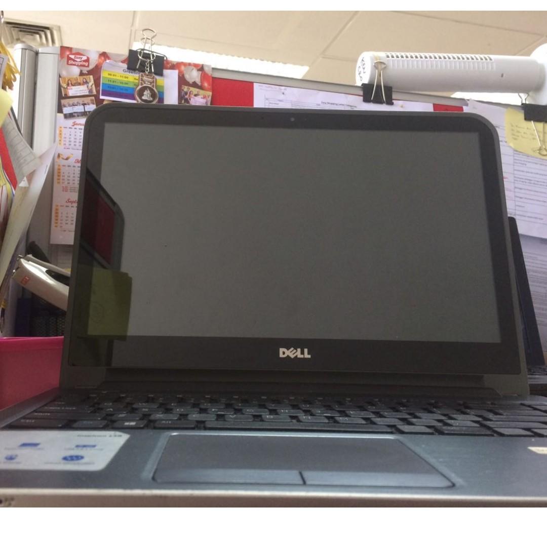"Laptop DELL Core i3 Touchscreen 14"""