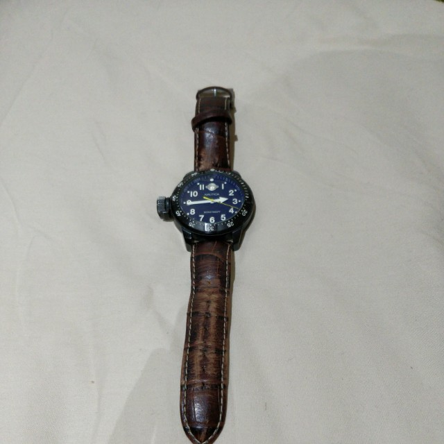 Leather Nautica Watch
