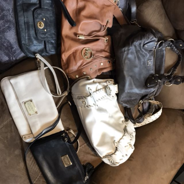 Leather purses - Marc Jacobs and Michael Kors