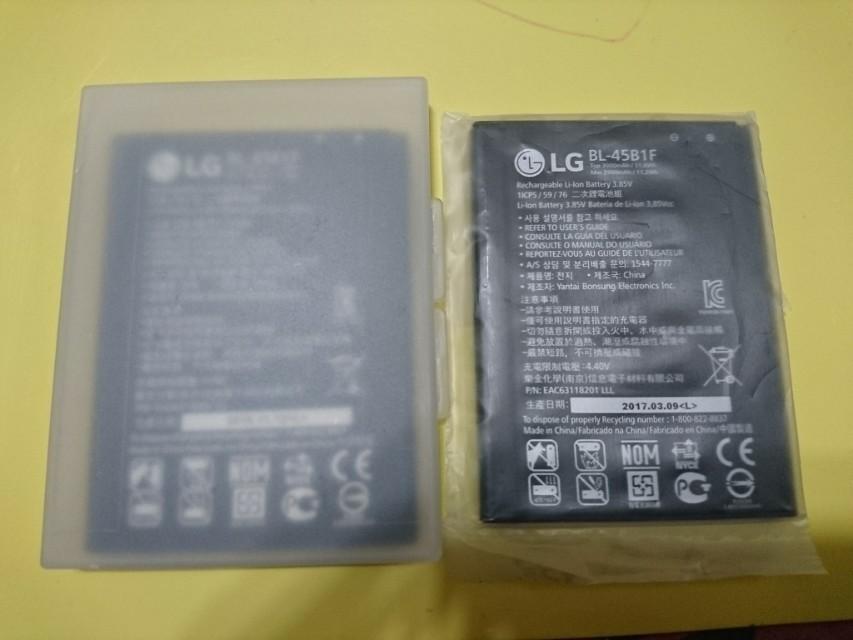 Lg v20 v10 g3 G4 g5 gpro 2 原裝全新電池 旺角格仔店交收或包郵寄出