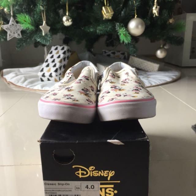 Limited edition Vans X Disney
