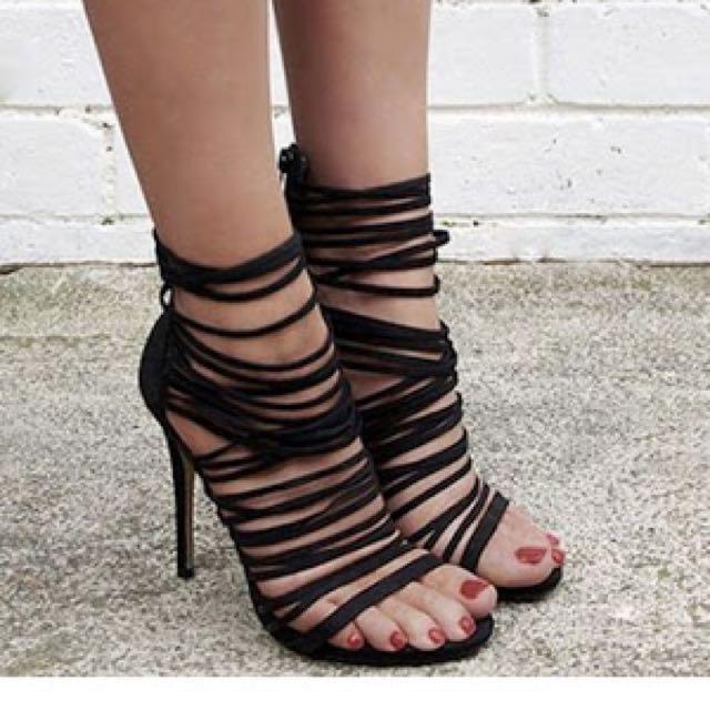 Lipstick Gabbi Heels