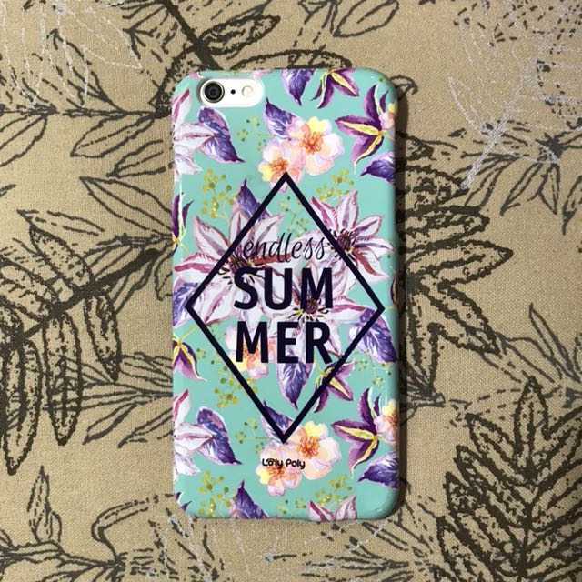 Loly Poly Endless Summer iPhone 6 PLUS Case