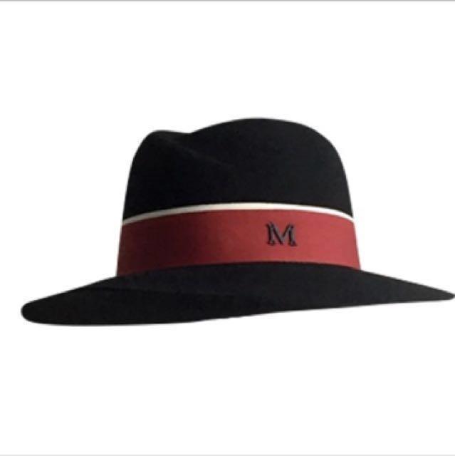 M羊毛紳士帽