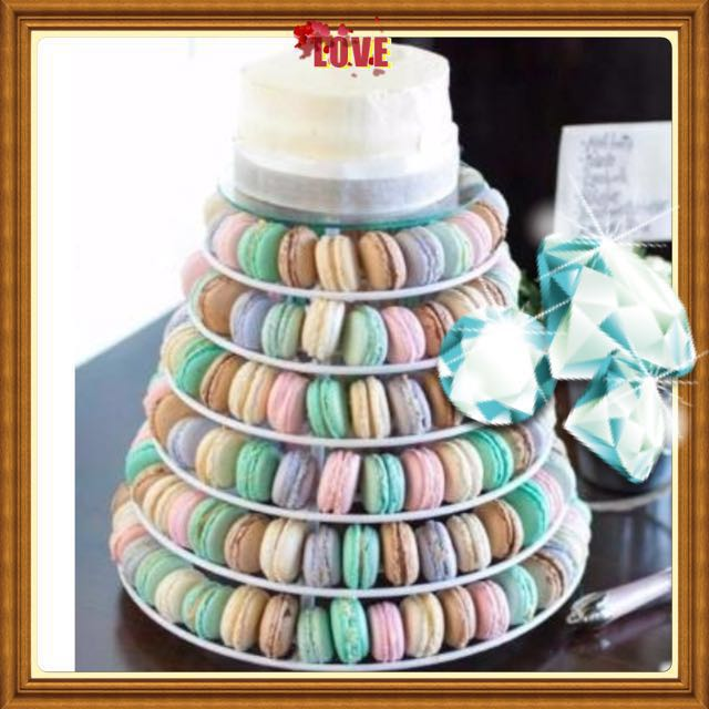 macaroons wedding cake macaroon cake tier wedding cake food amp drinks baked 16971