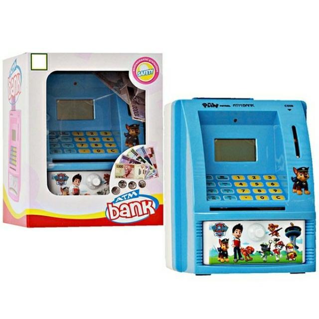 Mainan ATM Celengan