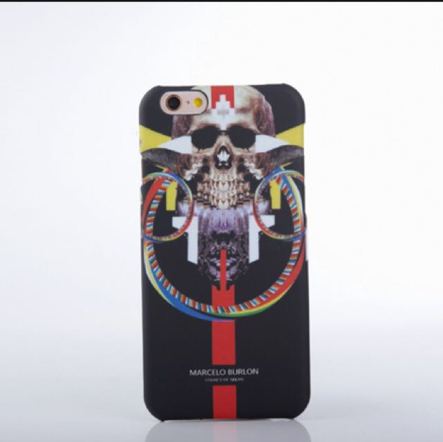 negozio online 2add5 25490 Marcelo Burlon Wolf Cover for Apple iPhone