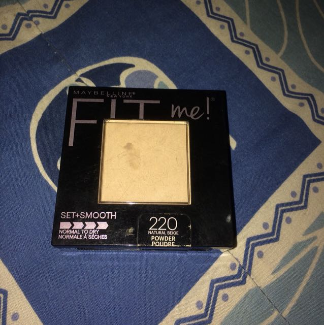 Maybelline fit me set + smooth