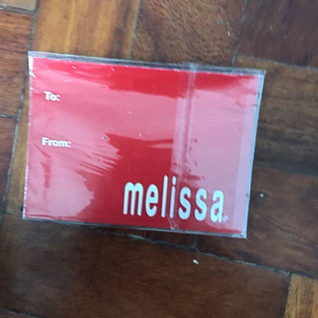 Melissa Gift Certificate