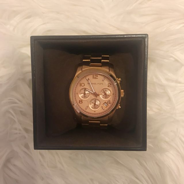 Michael Kors Chronograph Rose Gold Watch MK-5128 38mm