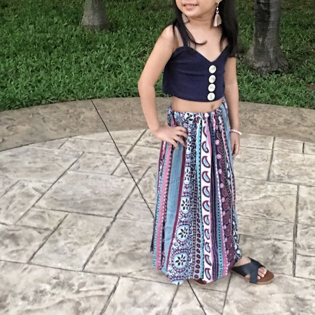 Mikhaela Andrielle boho dress