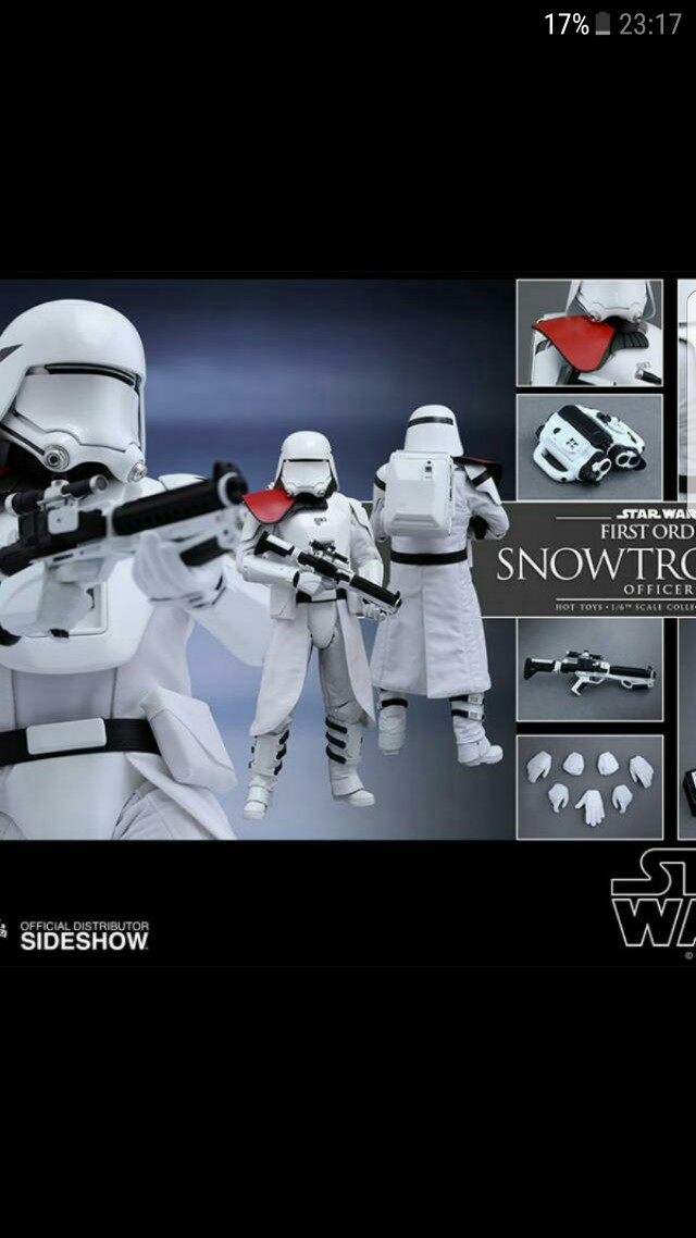 MMS322 Hot Toys Snowtroopers Officer