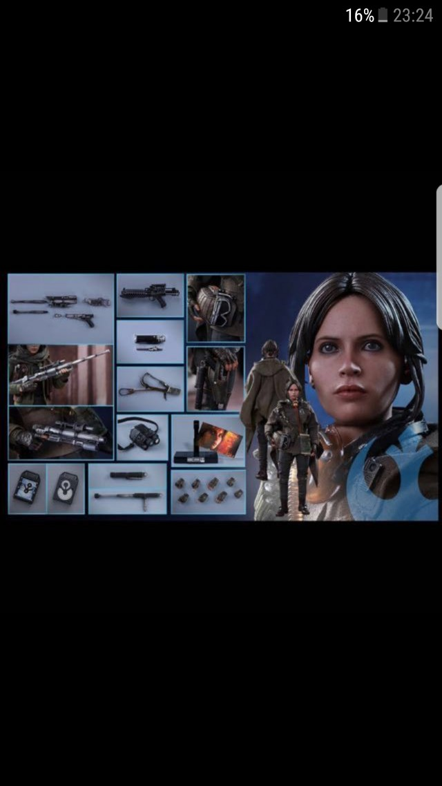 MMS405 DELUXE Hot Toys Star Wars Jyn Erso 1/6 scale