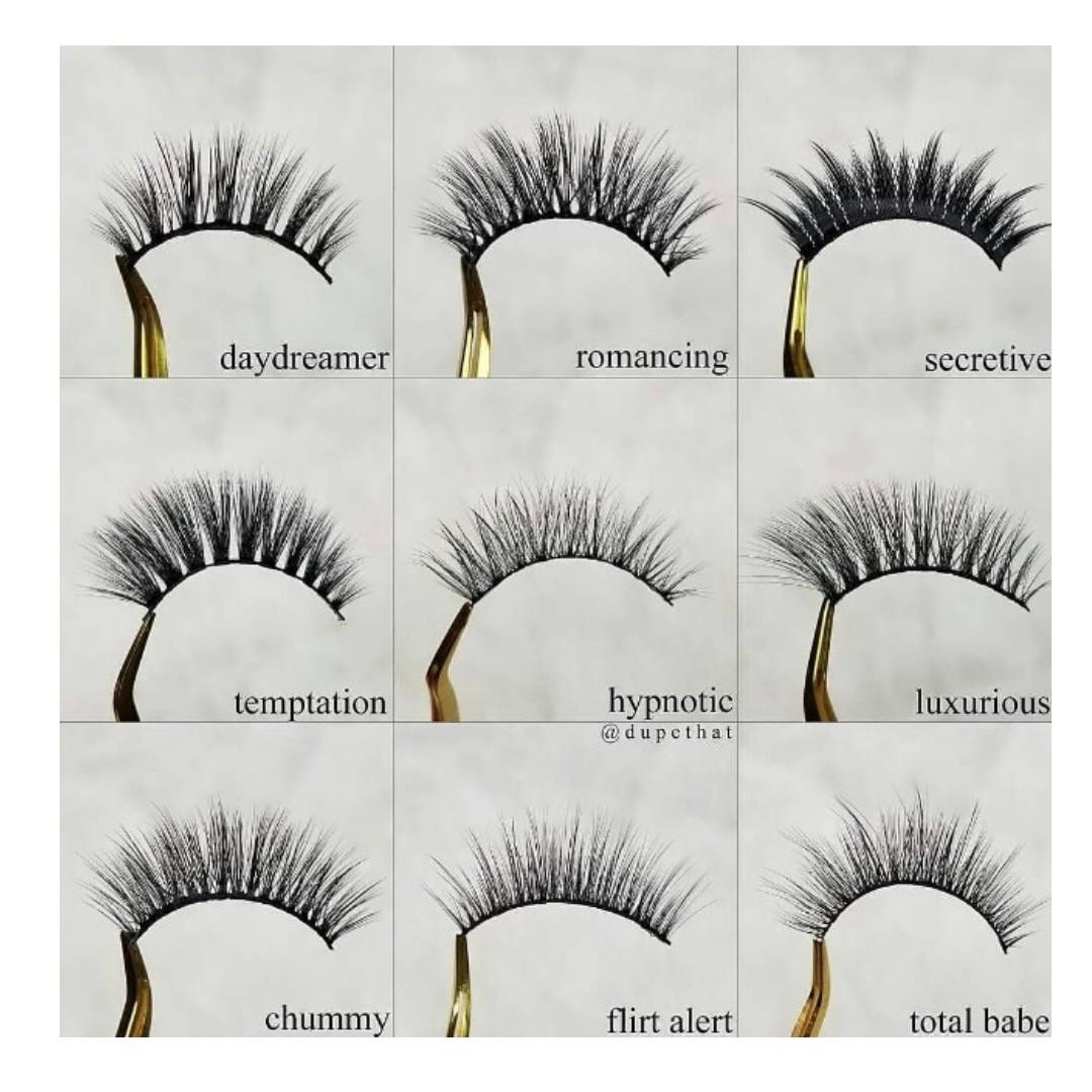 10464aaa79d Morphe Premium Lashes, Health & Beauty, Makeup on Carousell